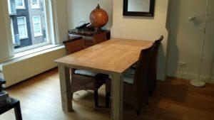 Rbhoutwerk steigerhout eettafel