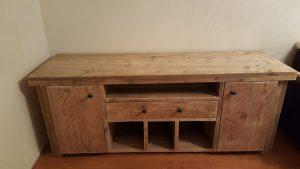 rbhoutwerk steigerhout dressoir lades