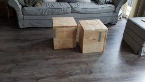 rbhoutwerk blokken steigerhout salontafel
