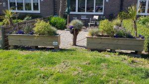 rbhoutwerk plantenbak steigerhout