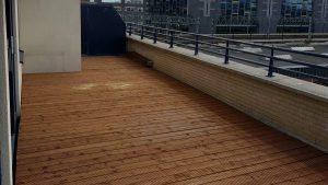 rbhoutwerk dakterras duurzaam geimpregneerd hout