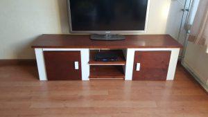rbhoutwerk tv-meubel koloniaal
