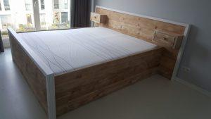 Rbhoutwerk steigerhout bed lades
