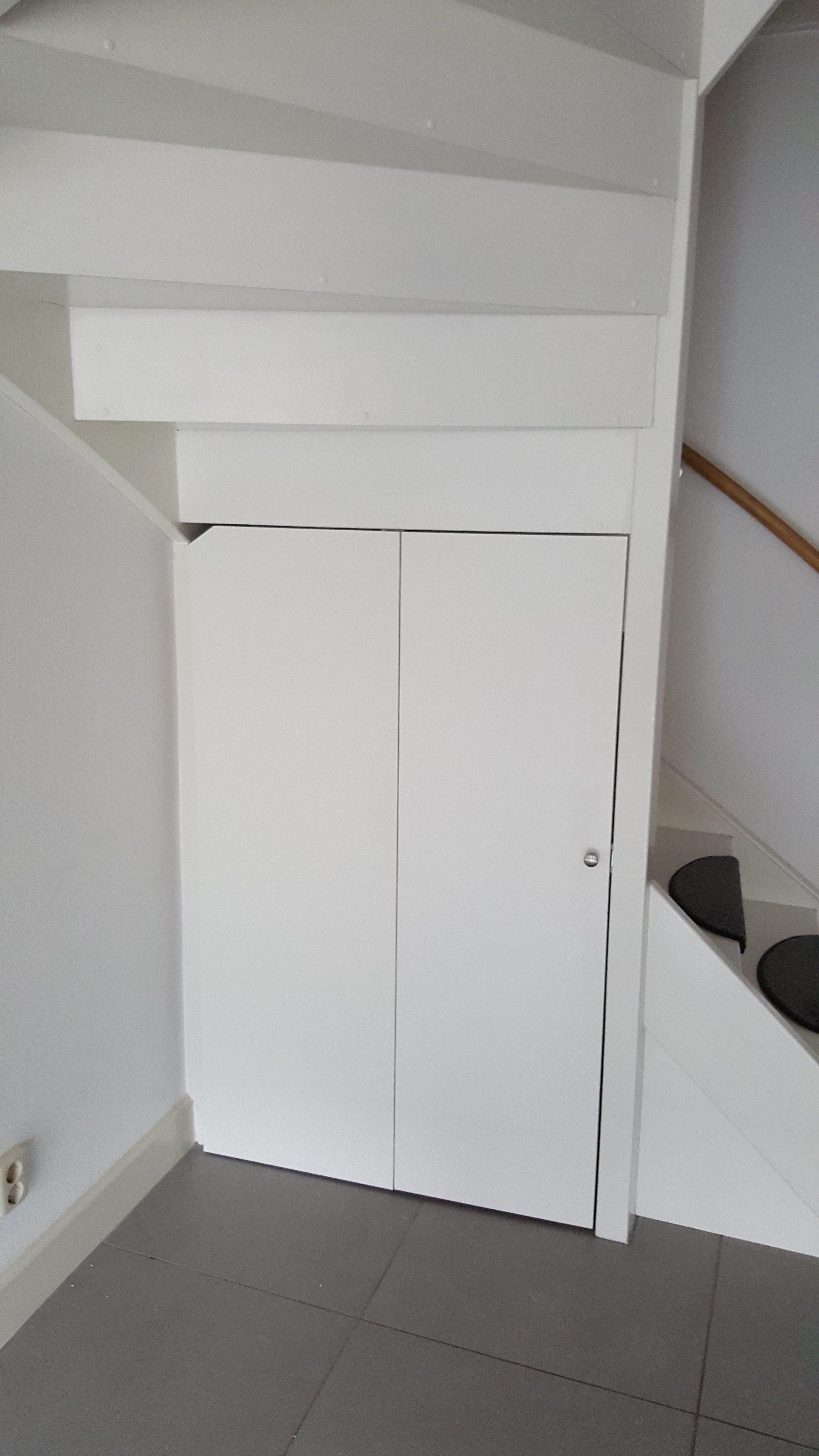 rbhoutwerk trapkast dicht maken trap