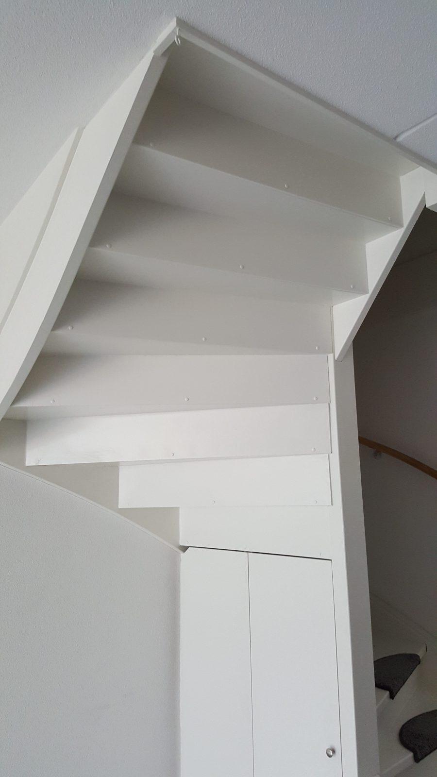 rbhoutwerk open trap dichtmaken