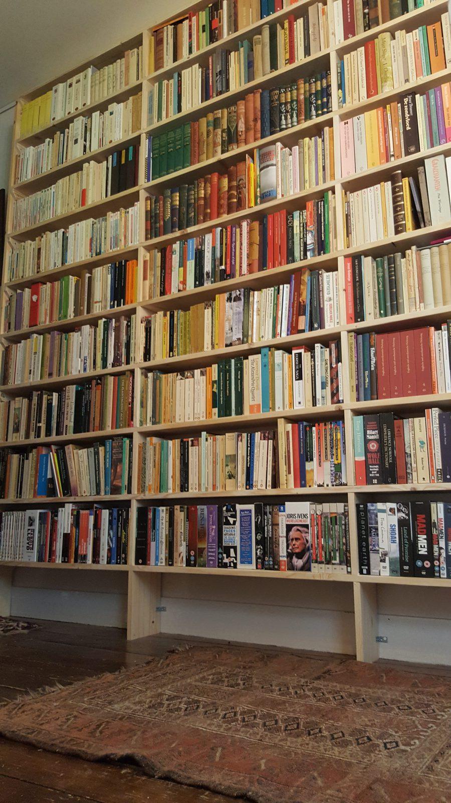 rbhouwerk boekenkast hout