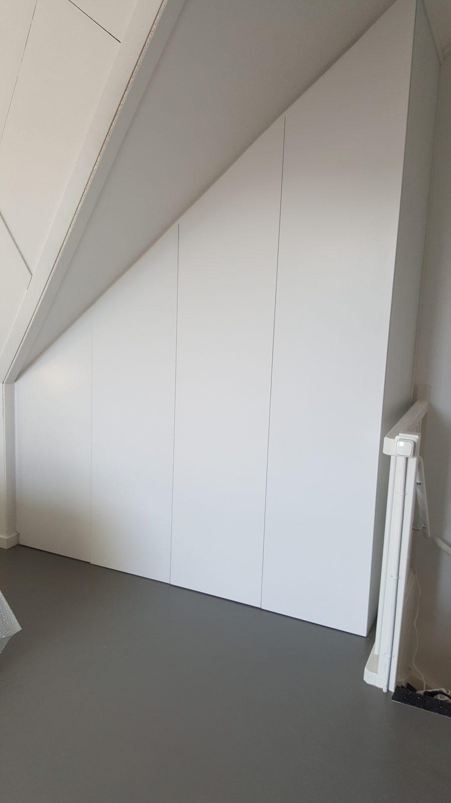 rbhoutwerk inbouwkast schuin dak