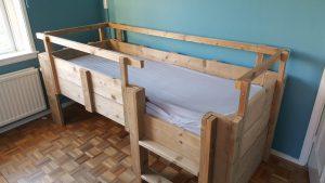 rbhoutwerk steigerhout bed