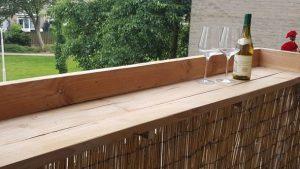 rbhoutwerk balkonbar steigerhout