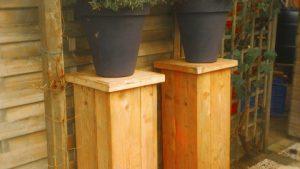 rbhoutwerk steigerhout pilaren