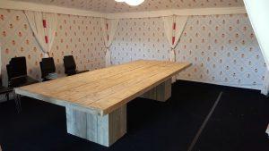 rbhoutwerk steigerhout grote groeps tafel